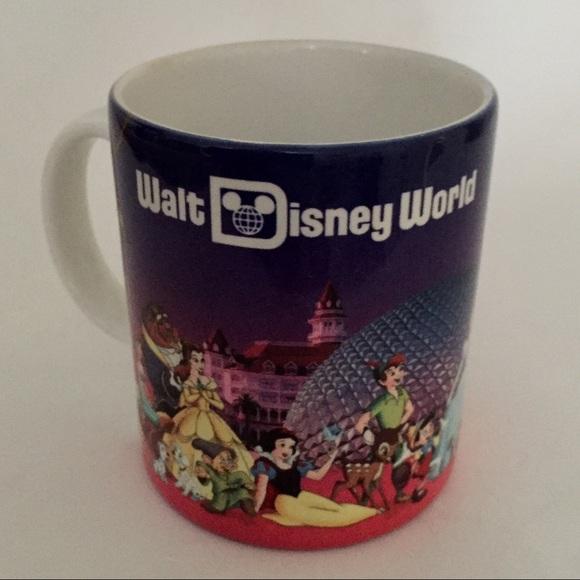 Disney Other - Vintage Walt Disney World Grandma Mug Characters